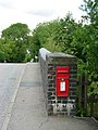 Post Box at Croft - geograph.org.uk - 215368.jpg