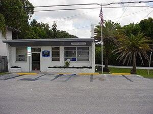 Crystal Beach, Florida - Post Office Crystal Beach FL