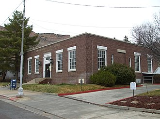 Helper, Utah - Helper's post office is one of 3 sites listed on the National Register of Historic Places