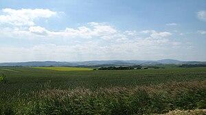 Głubczyce County - Image: Powiat głubczycki panorama