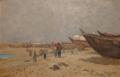Praia de Vila do Conde (1884) - Marques de Oliveira (CP-MA, Inv. 84.794).png