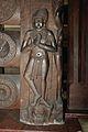 Praying Male Figure - 2nd Century BCE - Red Sand Stone - Bharhut Stupa Pillar - Madhya Pradesh - Indian Museum - Kolkata 2012-11-16 1832.JPG