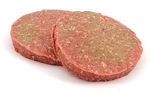 Patty - Two pre-formed hamburger patties