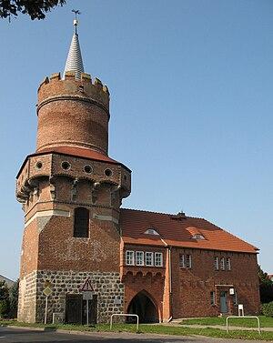 Prenzlau - Image: Prenzlau Mitteltorturm
