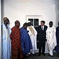 President John F. Kennedy with Parliamentary Delegation from Nigeria (05).jpg