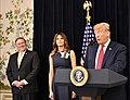 President Trump Addresses Tri- Mission Brussels (41533413010).jpg