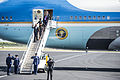 President and First Lady arrive in Homestead, Florida. 140307-N-LO372-374.jpg