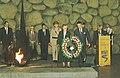 Prince Philip and Princess Sophie laying a wreath at Yad Vashem - 1994.jpg