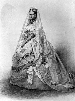 Wedding Dress Of Princess Alexandra Denmark
