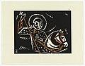 "Print, Svaty Jiri, Saint George, Plate VIII, ""Ethiopie, cili Christos, Madonna a Svati, jak jsem ie videl v illuminacich starych ethiopskych kodexu"" Portfolio, 1920 (CH 18684925).jpg"