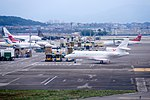 Private Aircraft at Taippei Songshan Airport Apron 20150210.jpg