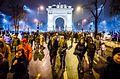 Protest against corruption - Bucharest 2017 - Arcul de Triumf - 2.jpg