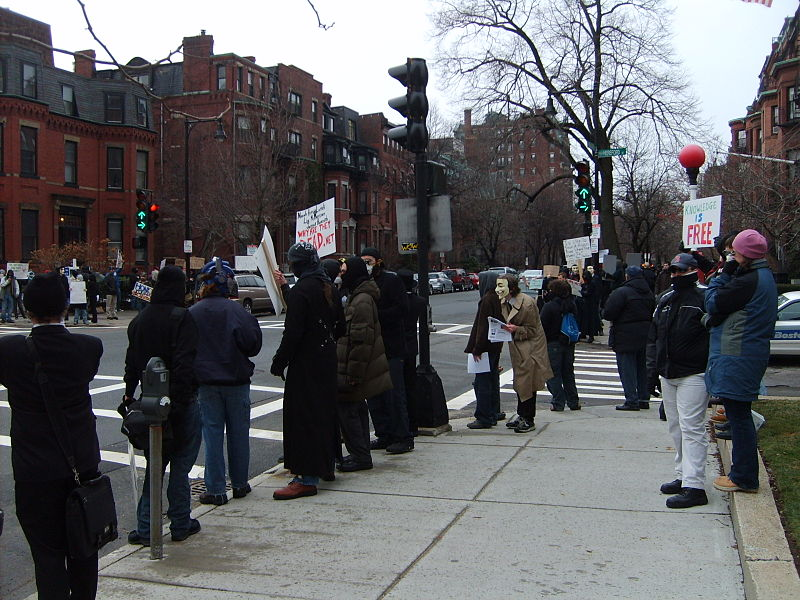 File:Protesting - Scientology Boston.JPG