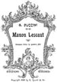 Puccini - Manon Lescaut - libretto, Milan 1893 - cover.png