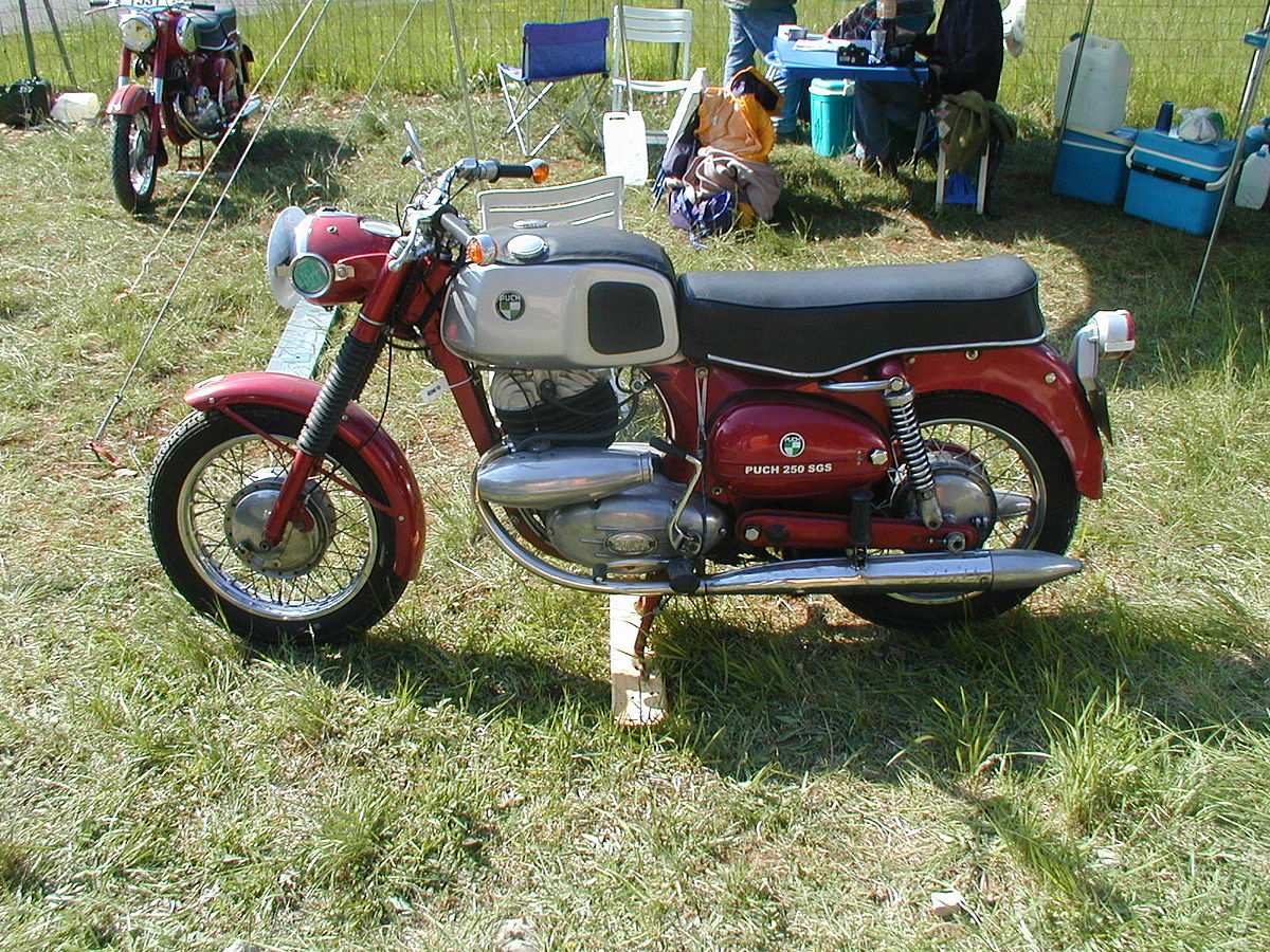 Px Puch Motorcycle on Puch Split Single Engine