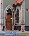 Puerta de entrada Iglesia Presbiteriana Emmanuel Aguascalientes México.jpg