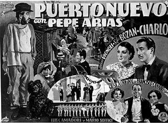 Pepe Arias - Flyer for Puerto nuevo (1936)