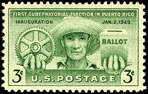 Puerto Rico on stamps - Puerto Rico election 1949 issue
