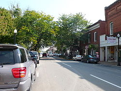 Main Street in Pulaski, Virginia