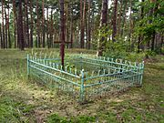 Pulemets Shatskyi Volynska-grave of unknown soviet warrior-general view.jpg
