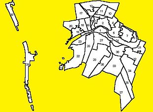 Suddivisione della città di Pisa 878f0578f45