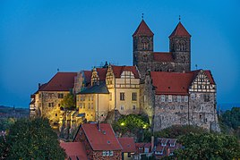 Quedlinburg castle hill