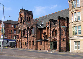 Queen's Cross Church, Glasgow - View from south-east.