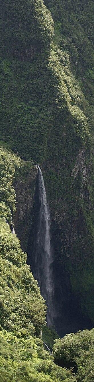 Salazie - Waterfall of the Trou de fer