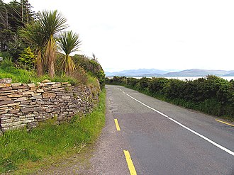 R561 road (Ireland) - Image: R561 from Inch to Anascaul geograph.org.uk 15762