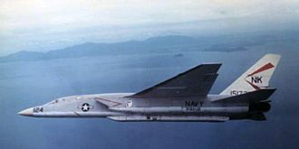 North American A-5 Vigilante - An RVAH-12 RA-5C beginning its reconnaissance run over Vietnam, 1967.