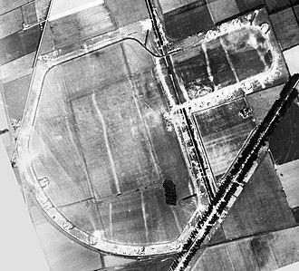 RAF Snailwell - Aerial photograph of Snailwell airfield, 26 July 1942