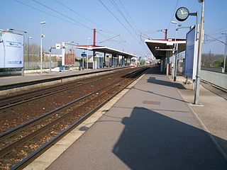 Gennevilliers station railway station in Gennevilliers, France