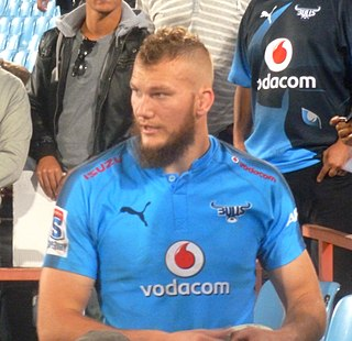 RG Snyman South African rugby union footballer