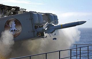 RIM-7 Sea Sparrow US ship-borne short-range air defence missile system
