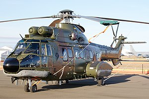 126 Squadron, Republic of Singapore Air Force - Image: RSAF Aerospatiale AS 332M1 Super Puma Vabre