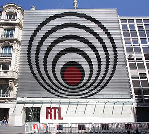 RTL (French radio) - RTL headquarters at 22 Rue Bayard in Paris