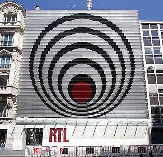RTL (French radio) - RTL headquarters at 22 Rue Bayard in Paris