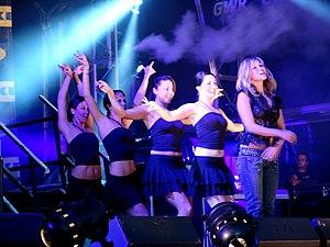 Rachel Stevens - Stevens performing in 2004.