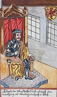 Radbot, Count of Habsburg 11th-century German nobleman