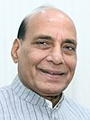 An image of Rajnath Singh.