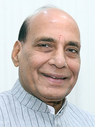 Minister of Home Affairs (India) - Image: Rajnath