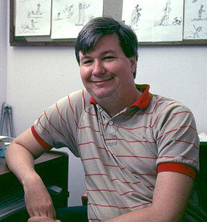 Randy Cartwright - Randy Cartwright at the Disney Studio in 1991.