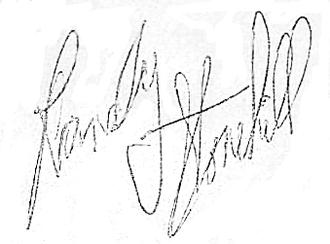 Randy Stonehill - Image: Randy Stonehill Signature (cropped, corrected)