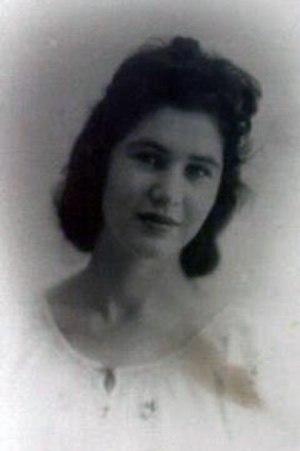 Dahlia Ravikovitch - Dahlia Ravikovitch in the 1950s