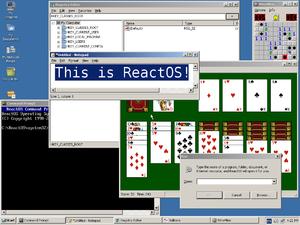 ReactOS — Википедия