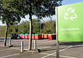 Recycling at Waitrose, Barry - geograph.org.uk - 275051.jpg