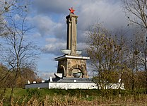 Red Army monument in Mikolin (Nikoline) 01.jpg