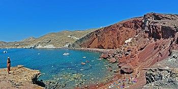 Red Beach Santorini Wikipedia
