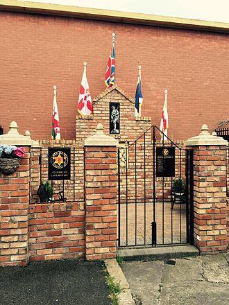 Red Hand Commando - RHC Memorial Garden