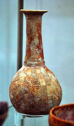 Pottery of ancient Cyprus - Cypriot Red Polished Ware II-III, 2200-1700 BC. Kiel, Germany